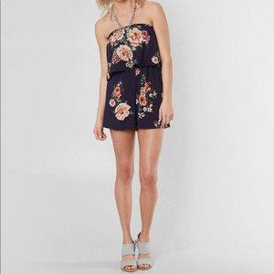 Floral romper from buckle.